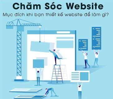 Chăm sóc website hiệu quả