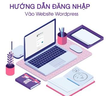 Hướng dẫn đăng nhập vào website