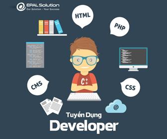 Tuyển dụng nhân viên developer