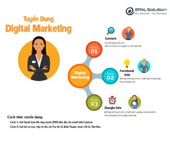 EPAL Solution tuyển dụng nhân viên Digital Marketing
