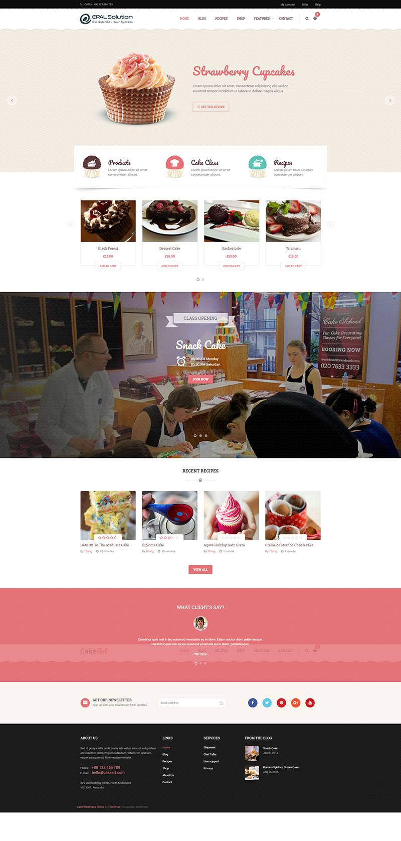 Giao-dien-website-am-thuc-Cake-Art