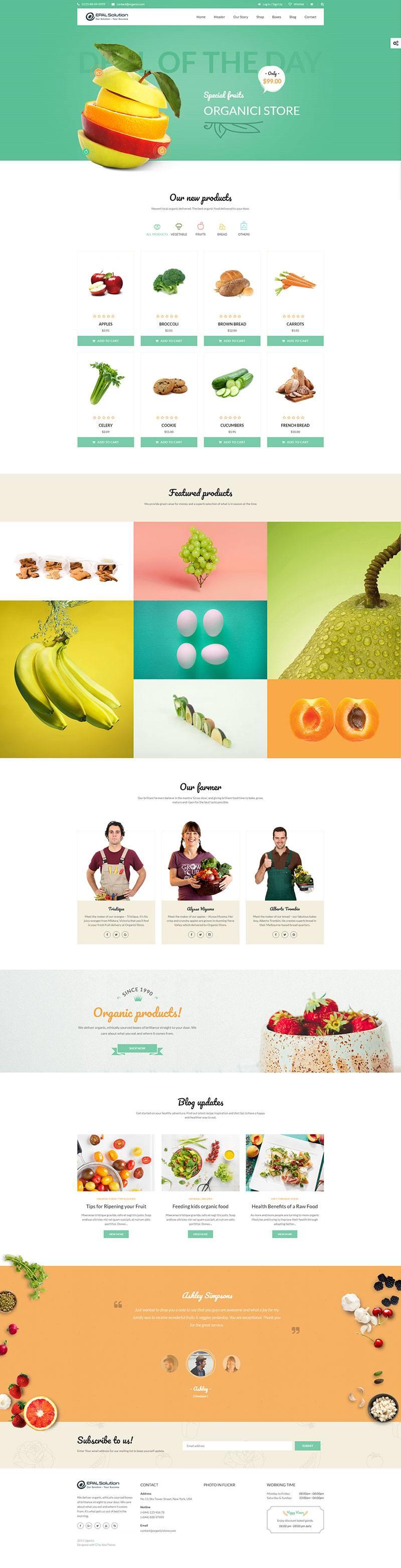 Giao-dien-website-am-thuc-Organici