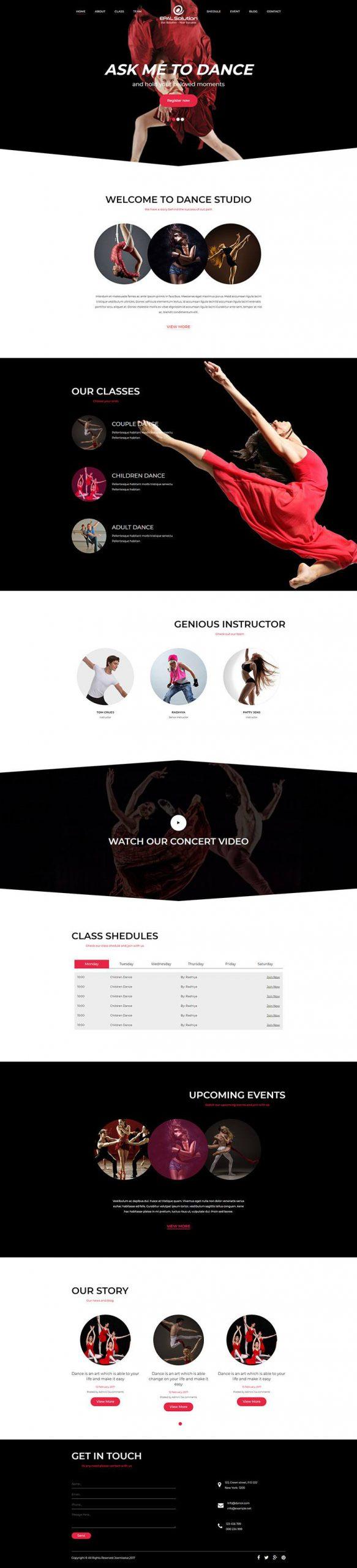 Giao-dien-website-game-dance