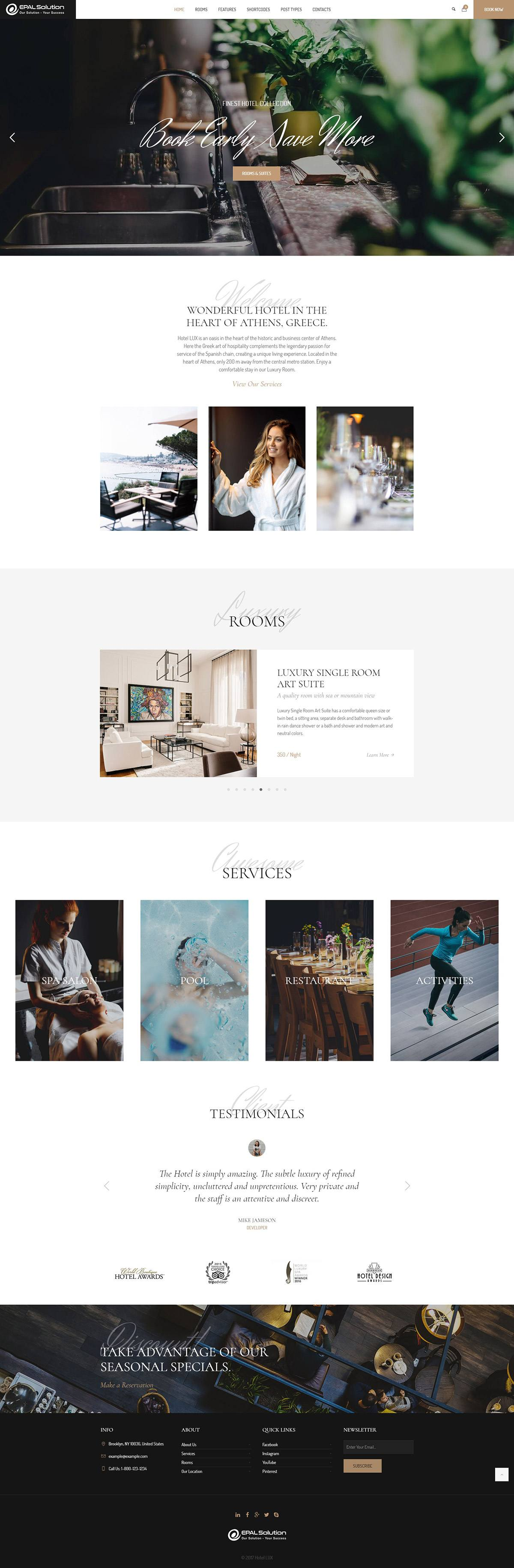 Giao-dien-website-khach-san-Hotel-Lux