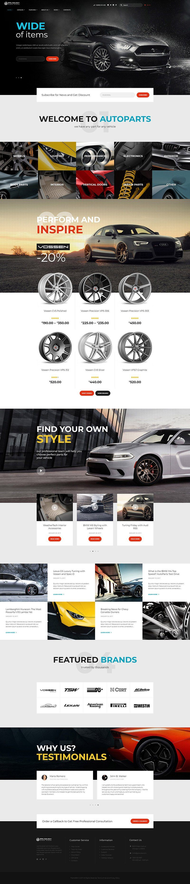 Giao-dien-website-o-to-Auto-Parts
