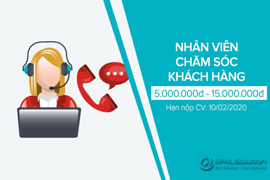 Tuyen Dung Nhan Vien Cham Soc Khach Hang