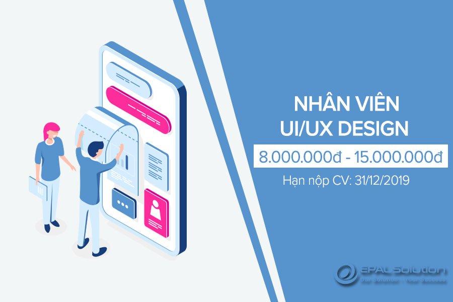 Tuyển Dụng Nhân Viên UI/UX Design