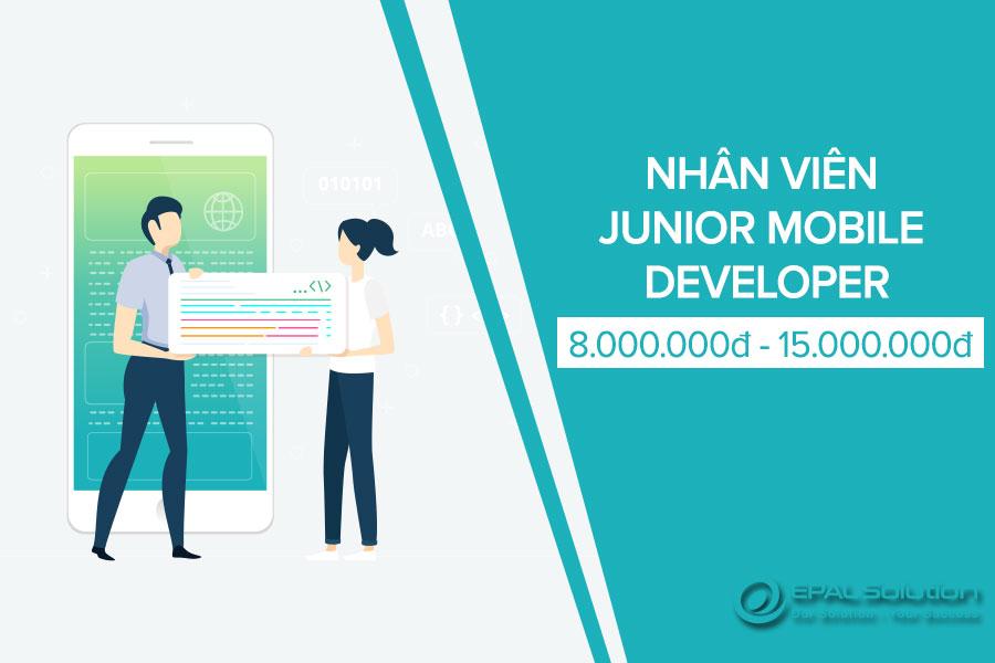 Tuyen Dung Nhan Vien Junior Mobile Developer