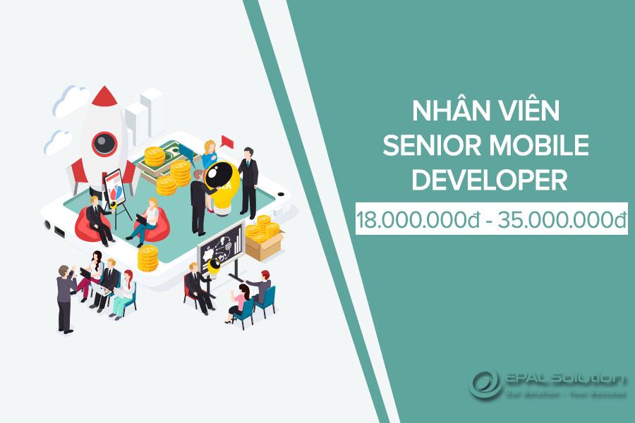 Tuyen Dung Nhan Vien Senior Mobile Developer