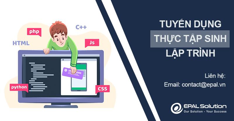 Tuyen Dung Thuc Tap Sinh Lap Trinh
